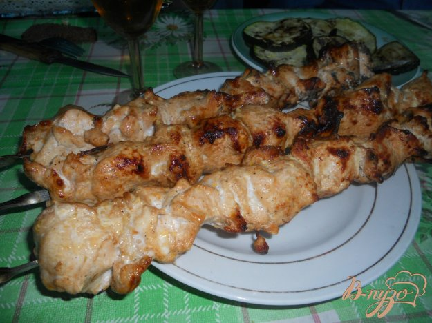 Рецепт Шашлык из куриной грудки