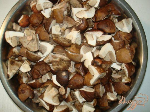Блины с грибной пастой