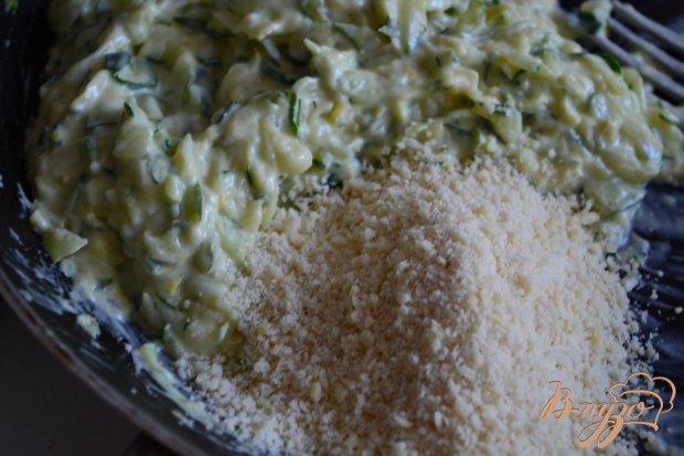 Филе скумбрии под шапочкой из цукини с сыром