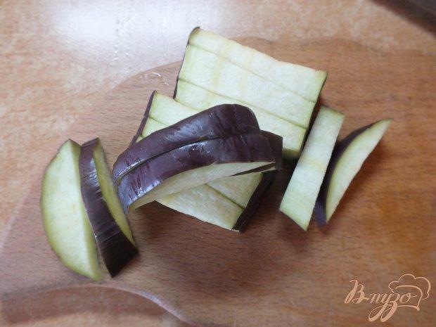 Салат из куриных желудков с печеными овощами