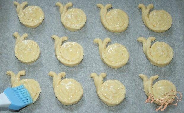 Сырно-кунжутное печенье «Улитки»
