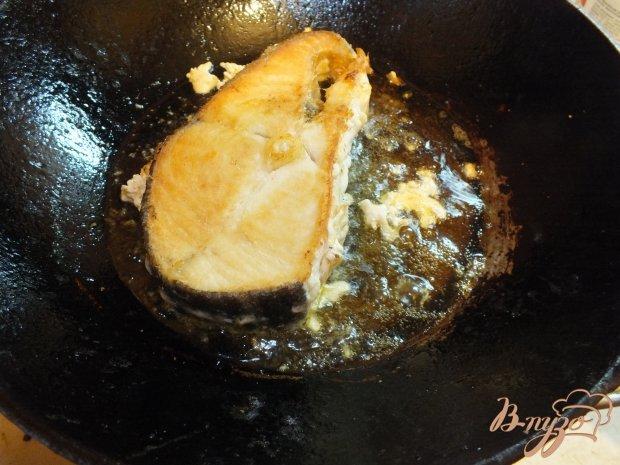 Имбирный стейк из масляной рыбы