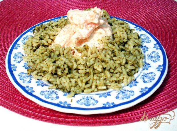 Рис со шпинатом (спанакоризо)