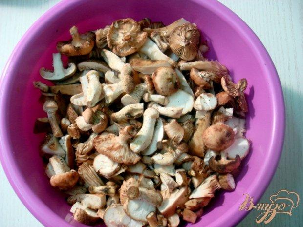 Пирожки с картофелем и грибами (из лаваша)