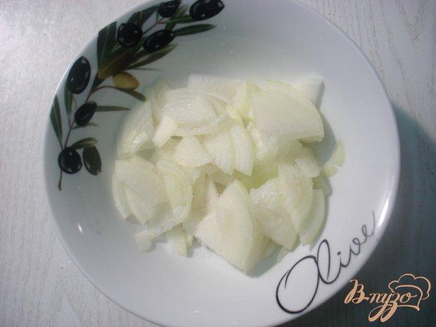 Сельдь со сметаной и яблоком