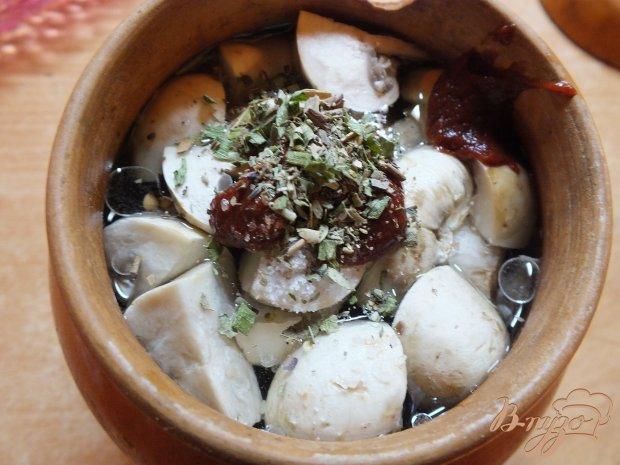 Гречка с грибами в духовке