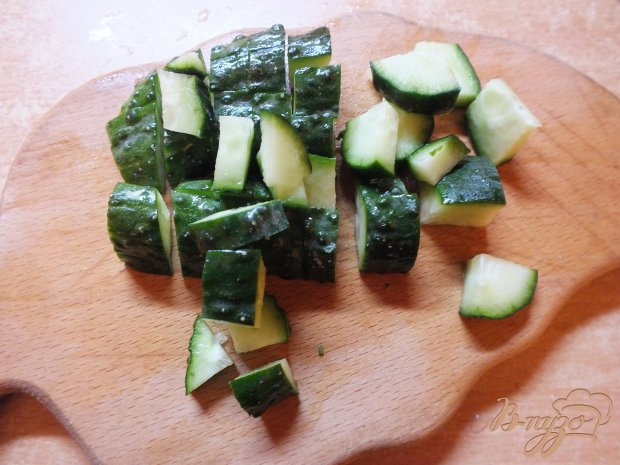 Салат овощной с сыром Дор-Блю