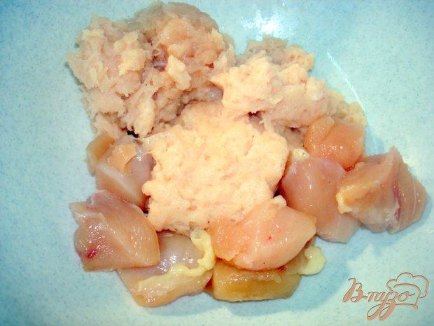 Куриное суфле с тыквой и морковью