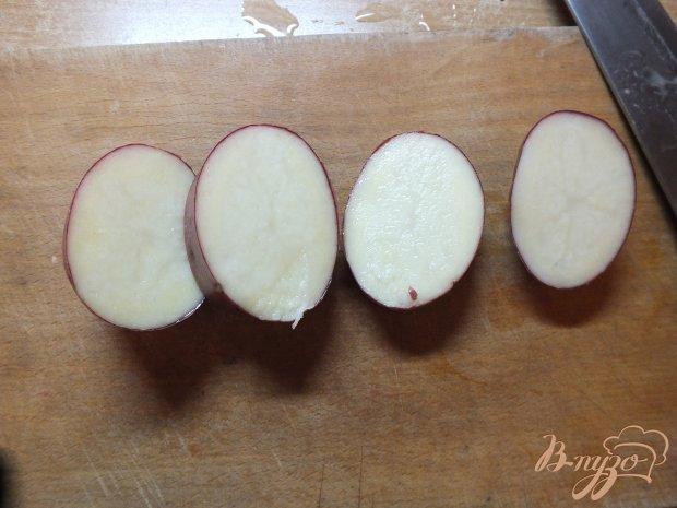 Картофель с салом и тимьяном