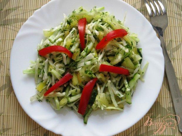 """Салат с капустой """"Хрустящий бум"""""""
