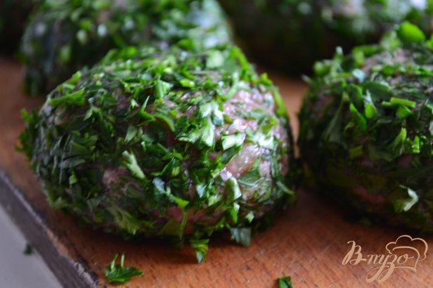 Котлетки в панировке из свежей зелени