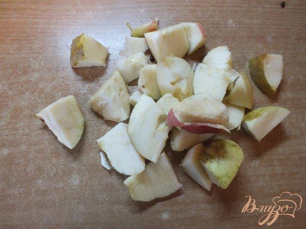 Яблочный компот со свежим тимьяном