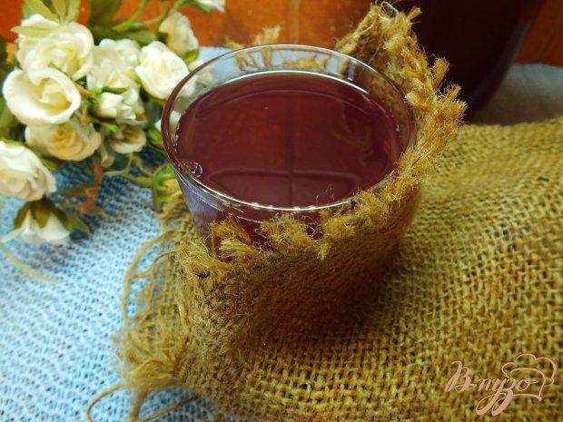 Компот сливово-виноградно-яблочный с фенхелем и кориандром