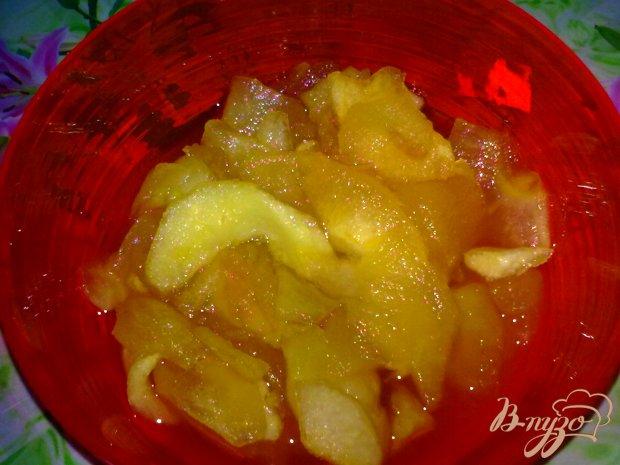 Кексы с яблочным вареньем