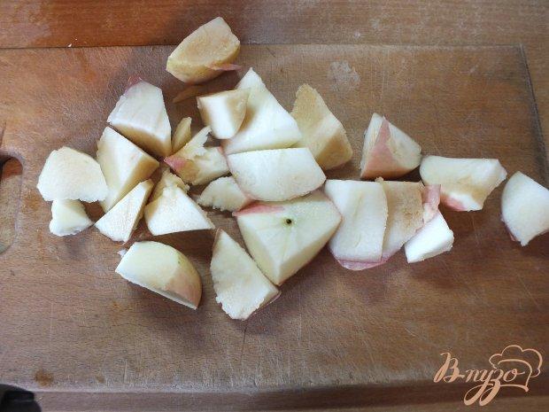 Яблочно-сливовый компот с шалфеем и корицей