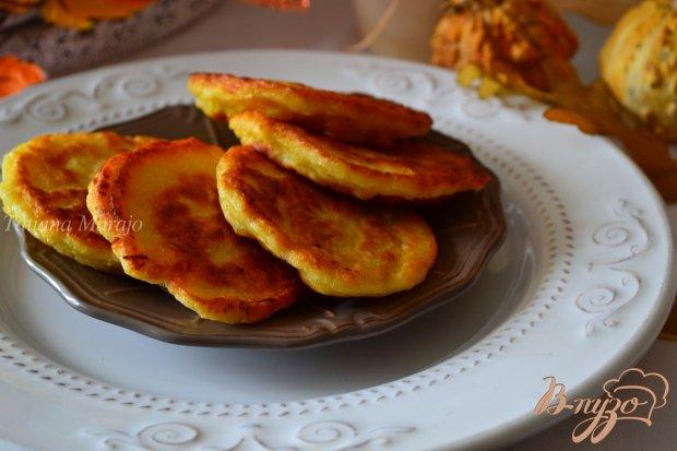 Закусочные оладьи с тыквой-спагетти