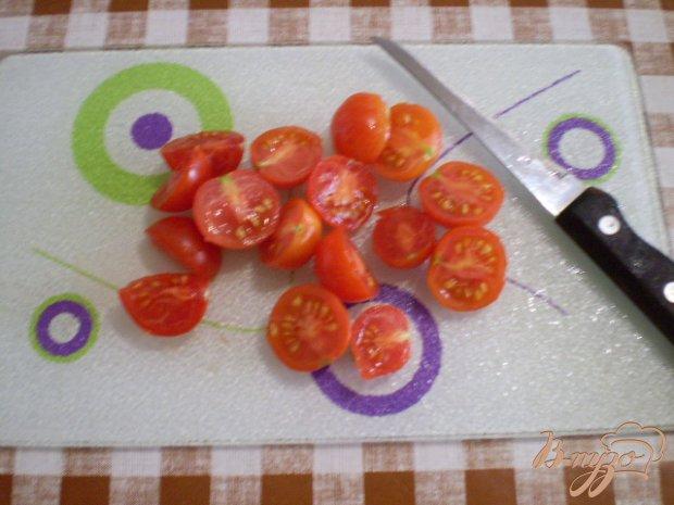 Овощной салат с кольраби