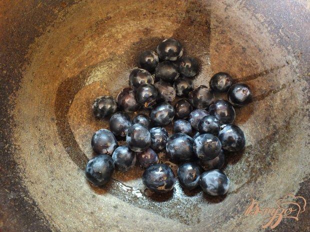 Виноградно-яблочный компот с корицей