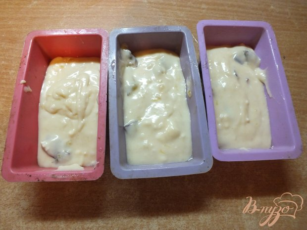 Сливовые кексы с творогом и медом