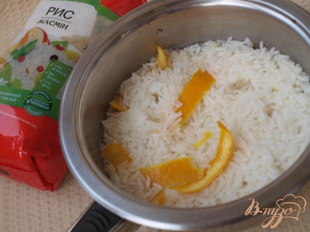 Апельсиновый суп с рисовыми шариками