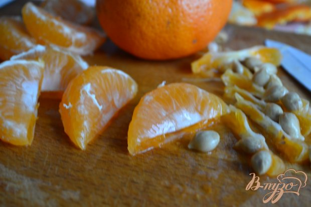 Тарт с рикоттой и мандаринами