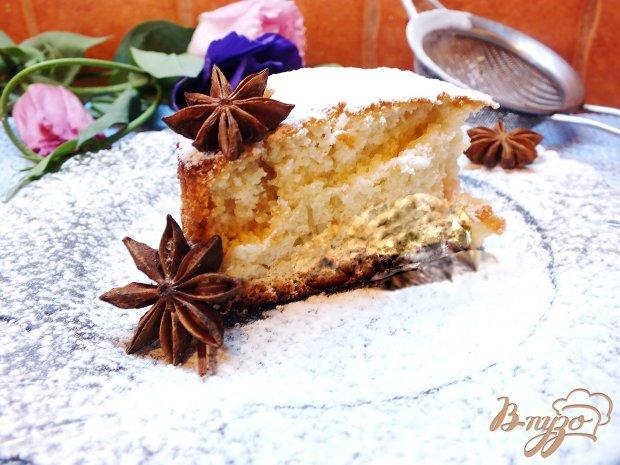 Простой ванильный пирог