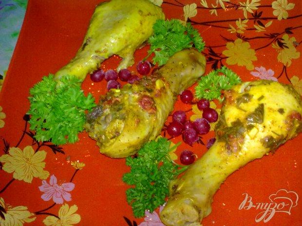 Куриные ножки в смородине