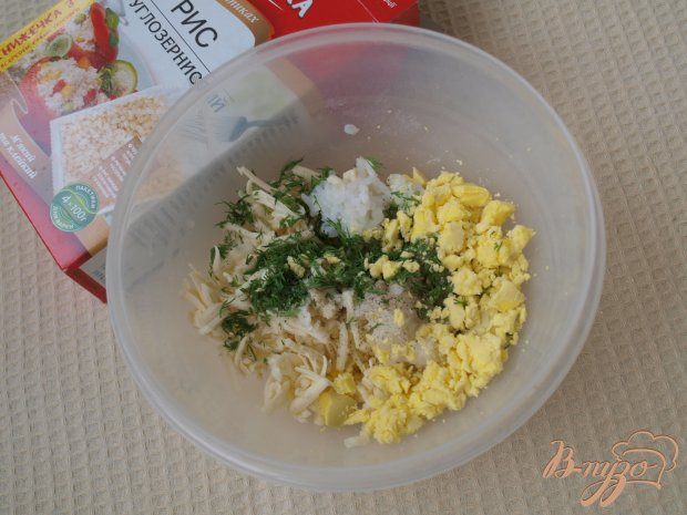 "Закуска с рисом ""Снежки"""