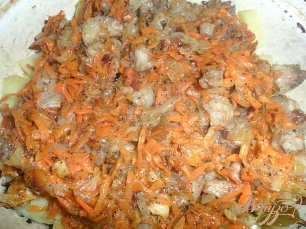 Тушеный картофель на газу