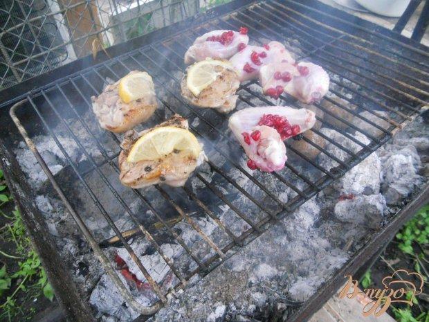 Куриные бедрышки на мангале