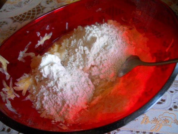 Оладьи из замороженного кабачка