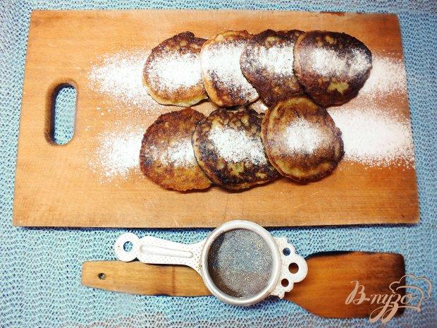 Кабачковые оладьи сладкие