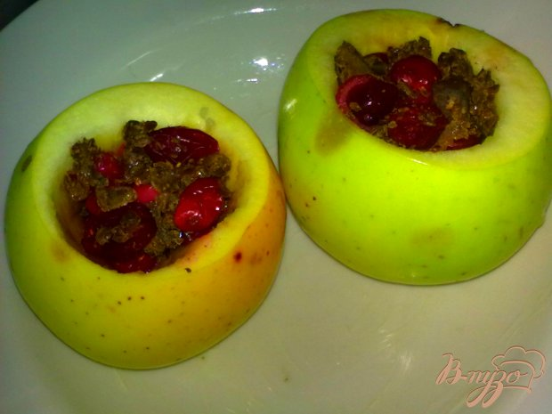 Яблоки с начинкой