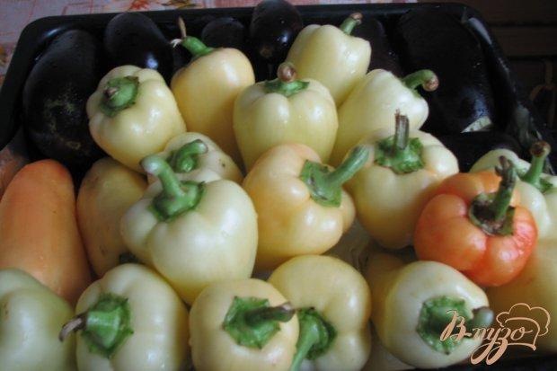 Печенная овощная икра
