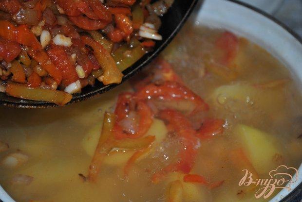 Суп с горохом нут