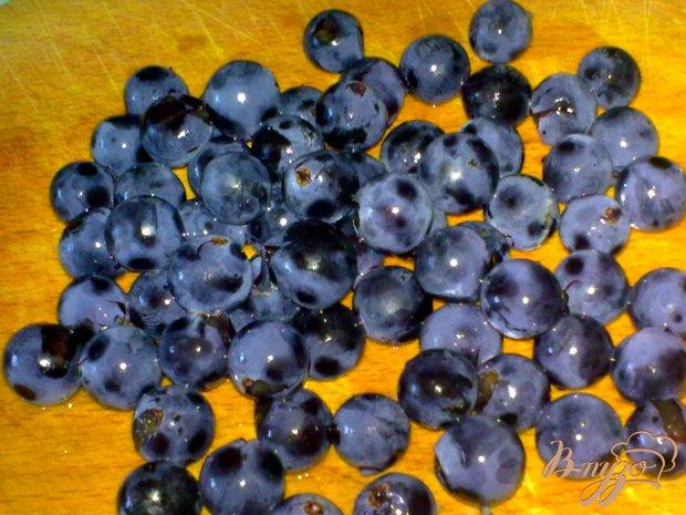 Компот из груш с виноградом и клюквой