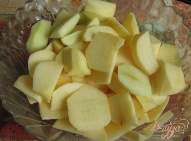 Пирог домашний яблочный