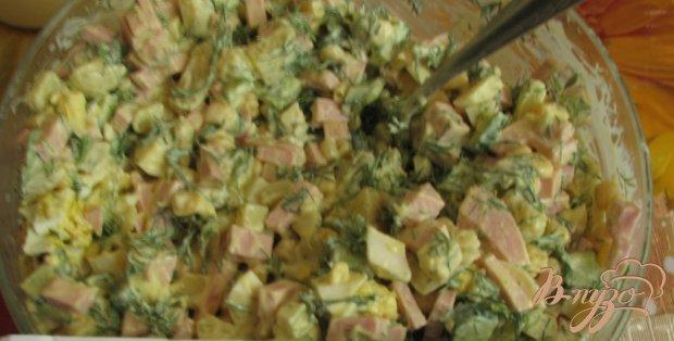 Салат под оливье