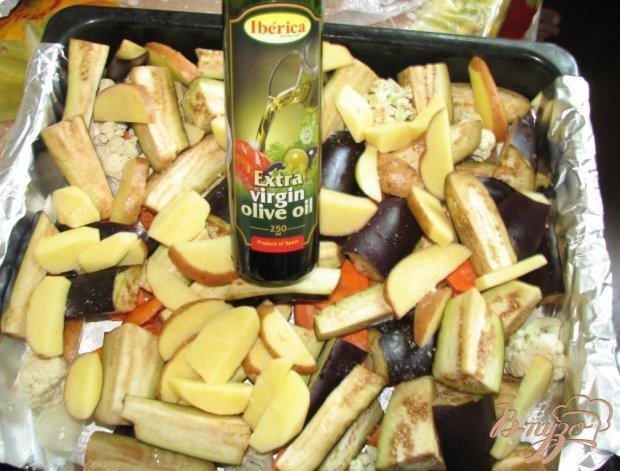 Овощи печеные в духовке