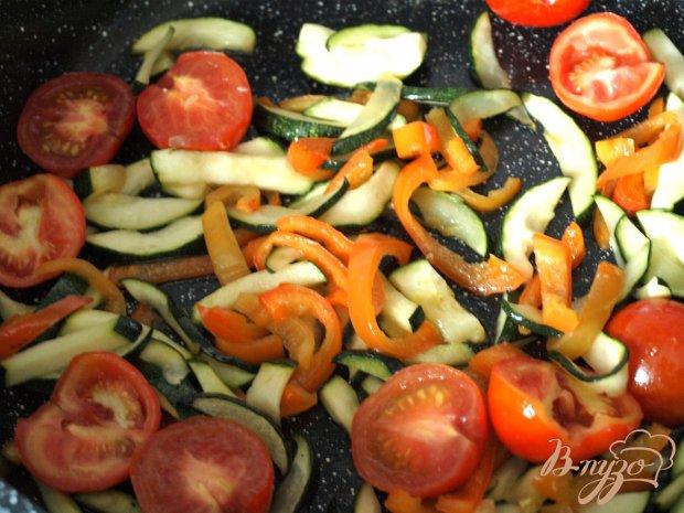 Овощи-гриль запечённые с адыгейским сыром