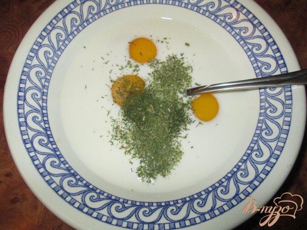 Омлет с болгарским перцем и сосисками