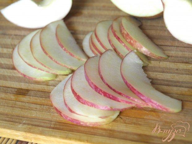 Яблочные розы для торта