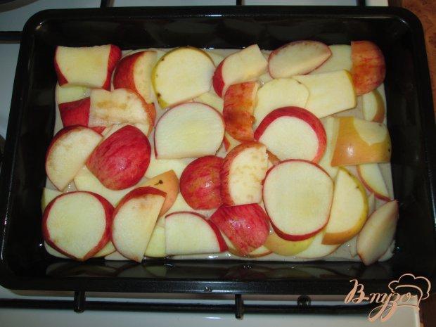 Яблочный пирог на детском творожке