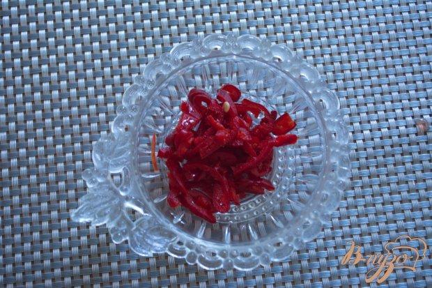 Лечо  из болгарского перца с добавлением яблок