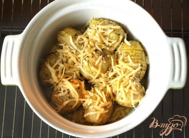Картофель,запечённый в духовке с ароматными травами