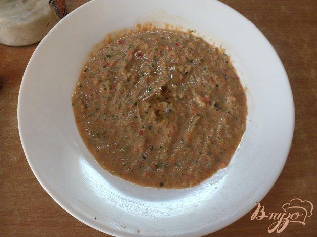Холодный суп-пюре из болгарского перца и огурца
