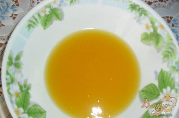 """Молочно-цитрусовый десерт """"Апельсиновые брызги"""""""