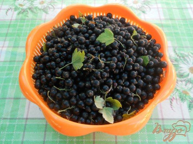Пюре из черной смородины