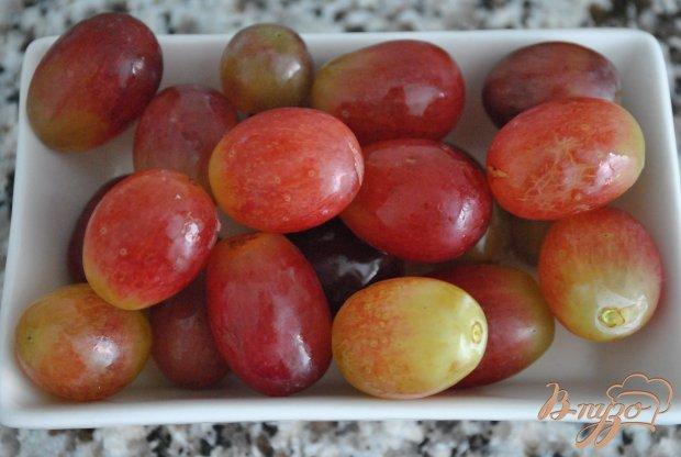 Льняная каша с виноградом