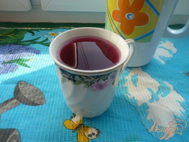 Виноградно-яблочный компот с мятой